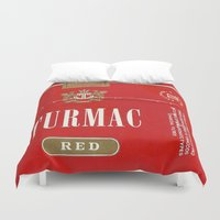 cigarette Duvet Covers featuring Turmac - Vintage Cigarette by Fernando Vieira