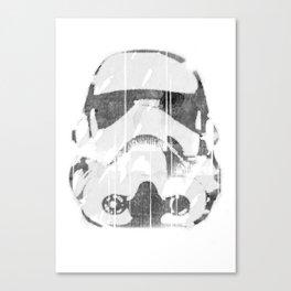 Watermark Stormtrooper Canvas Print