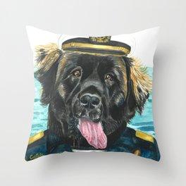 Captain Chewie Throw Pillow
