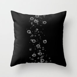 BUBBLED UP Throw Pillow