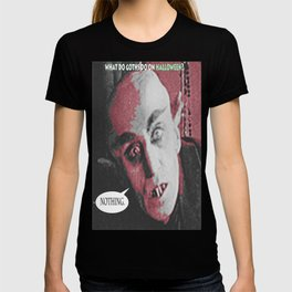 "'Count Orlock, the Vampire #3' from "" Nosferatu vs. Father Pipecock & Sister Funk (2014)"" T-shirt"