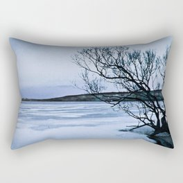 Frozen Lake Rectangular Pillow
