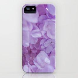 Lyrical Lilacs iPhone Case