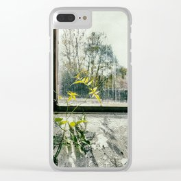 Longing Clear iPhone Case