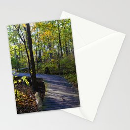 Boardwalks of southern Ontario, CA Stationery Cards