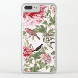 Botanical Paradise Clear iPhone Case