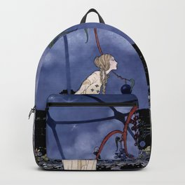 """Rosalie's Tree"" by Fairy Artist Virginia Sterrett Backpack"
