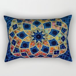 Starry Nine Rectangular Pillow