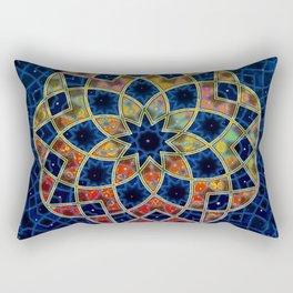 Starry Nine Rectangular Pillow