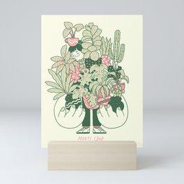 Plants Club (girl) Mini Art Print