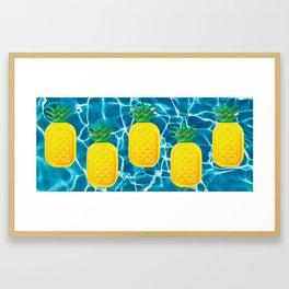 Pineapples Framed Art Print