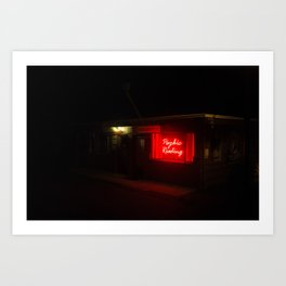 road side attraction Art Print