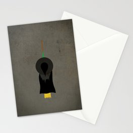 """""""Witch"""" Halloween Poster Stationery Cards"""