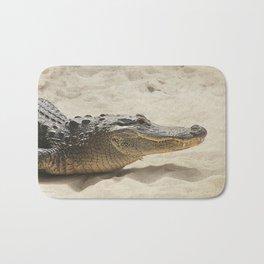 Alligator Photography | Reptile | Wildlife Art Bath Mat