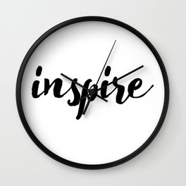 Inspire 01 Wall Clock