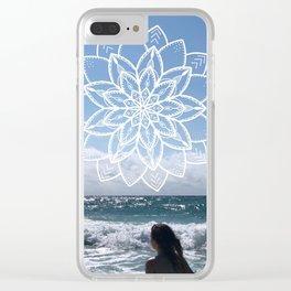 Mandala sky Clear iPhone Case