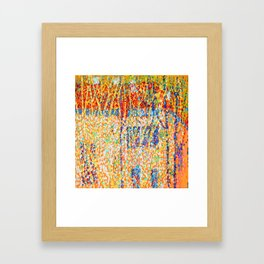 Kazimir Malevich Landscape with Red House Framed Art Print
