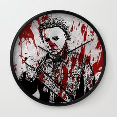 Welcome Home, Michael Wall Clock