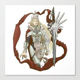 Winterbringer's Tale Canvas Print