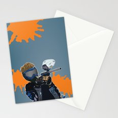 Paintball  Stationery Cards