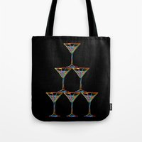 champagne Tote Bags featuring Champagne by Rceeh