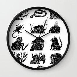 flflf Wall Clock