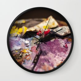 Paints Wall Clock