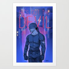 Got the Devil in Him Art Print