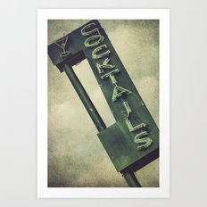 Cheers To Edith! Art Print