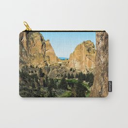 Rocks + River // Hiking Mountains Colorado Scenic View Landscape Photography Forest Backpacking Vibe Carry-All Pouch