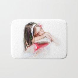 little girl Bath Mat