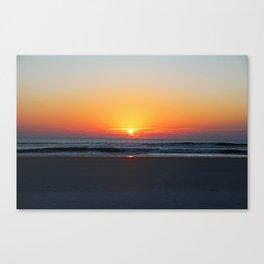 Sunrise on St Augustine Canvas Print