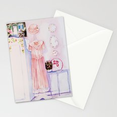 A pretty room Stationery Cards