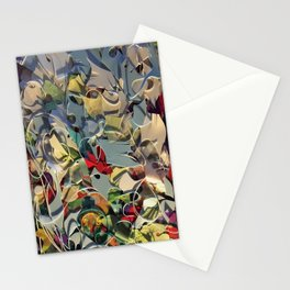 Tangled-Floral Fantasy Collage  Stationery Cards