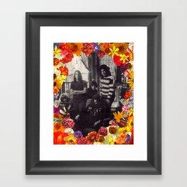 Flowers of Grateness Framed Art Print