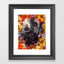 Flowers of Grateness Framed Art Print