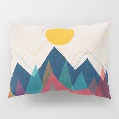 Uphill Battle Pillow Sham