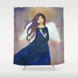 Christmas Angel 2 Shower Curtain
