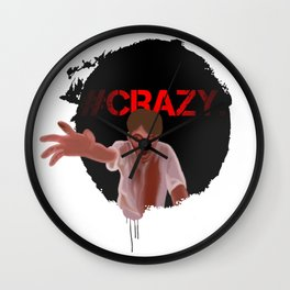 Crazy Zombie Wall Clock