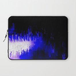 Aqua Stalagmites Laptop Sleeve