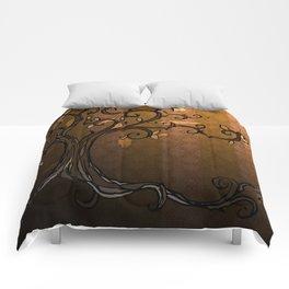 LEAVE - Autumn Amber Comforters