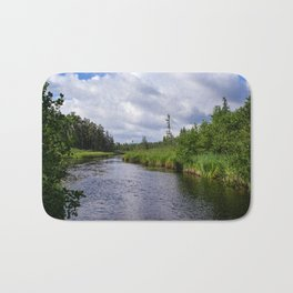 Boundary Waters Entry Point Bath Mat
