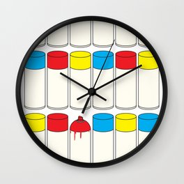 Cans Wall Clock