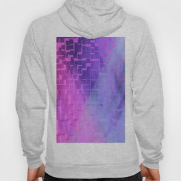 Texture cell cubes blast color Hoody