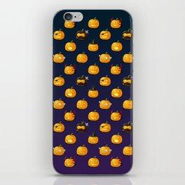 Halloween Jack-o'-lantern iPhone Skin