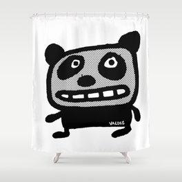 Graphic Panda! Shower Curtain