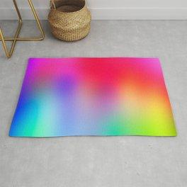 Fluorescent Neon Colors Rug