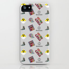 Roads? we don't need roads... iPhone Case