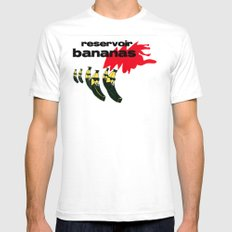 reservoir bananas SMALL White Mens Fitted Tee