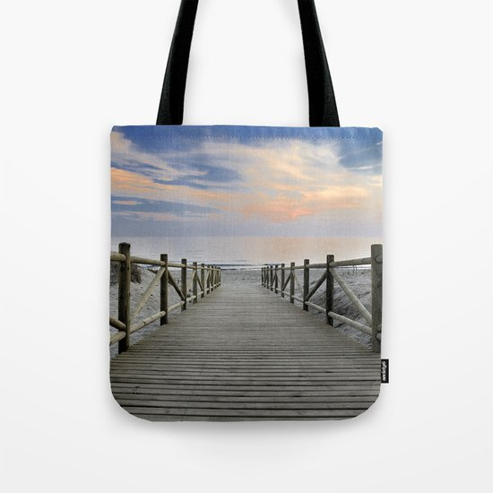 "The path..., the beach II .... ""Artola"". Tote Bag"